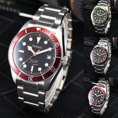 41mm Parnis Sapphire Crystal Miyota Automatic Men's Watch Luminous Marker 10 ATM Waterproof